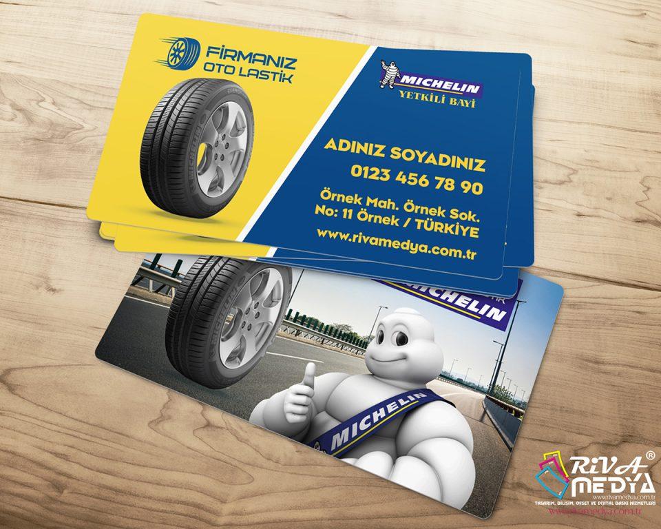 Michelin Yetkili Bayi Kartvizit - Hazır Kartvizit Tasarımı