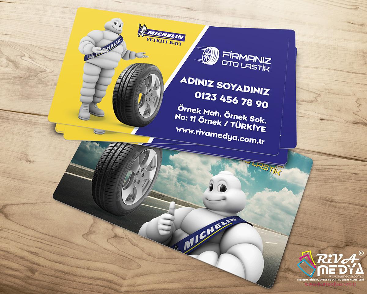 Michelin Yetkili Bayi 02 Kartvizit - Hazır Kartvizit Tasarımı