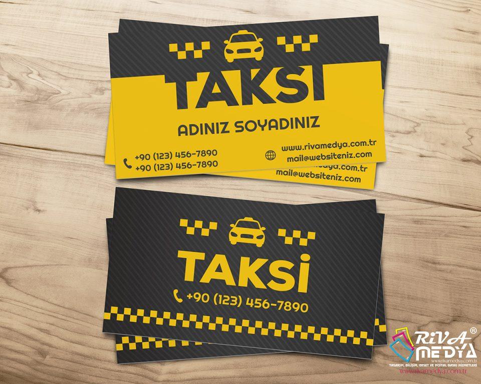 Taksi 06 Kartvizit - Hazır Kartvizit Tasarımı