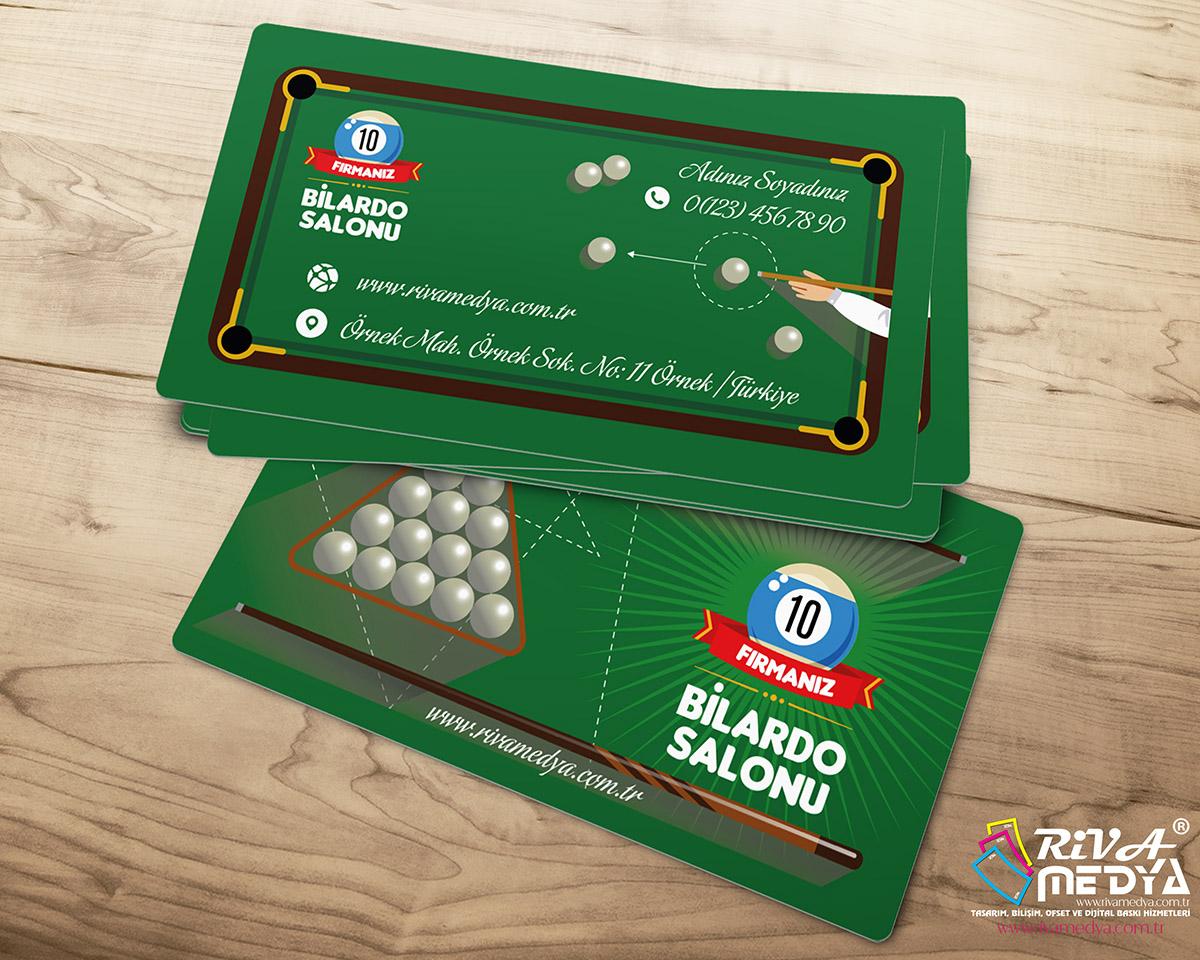 Bilardo Salonu 04 Kartvizit
