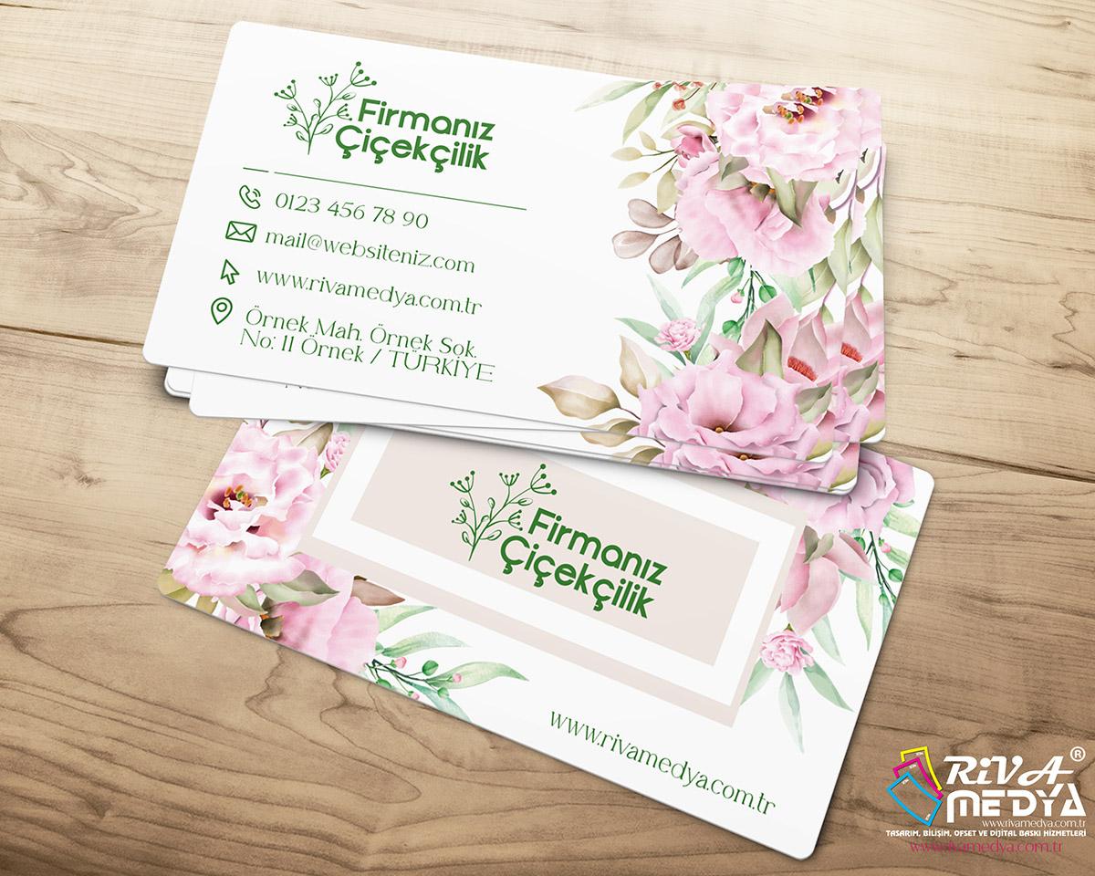 Çiçekçilik Kartvizit – 04 - Hazır Kartvizit Tasarımı